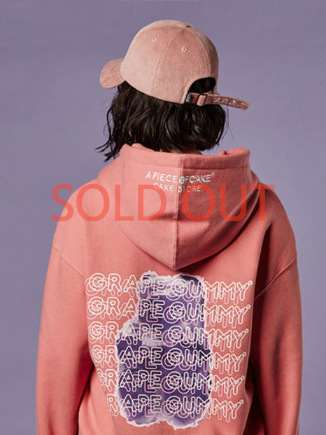 Grape-Gummy Hoody_Pink