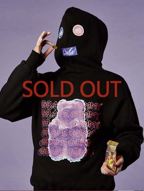 Grape-Gummy Hoody_Black
