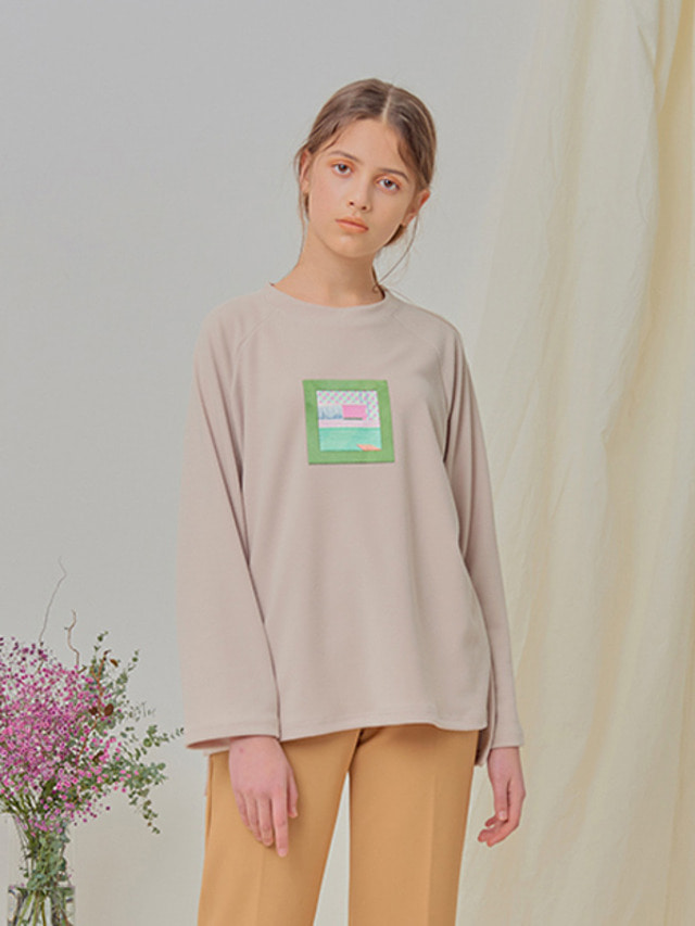 [NUPARCC]Hockney Window Tee - BE