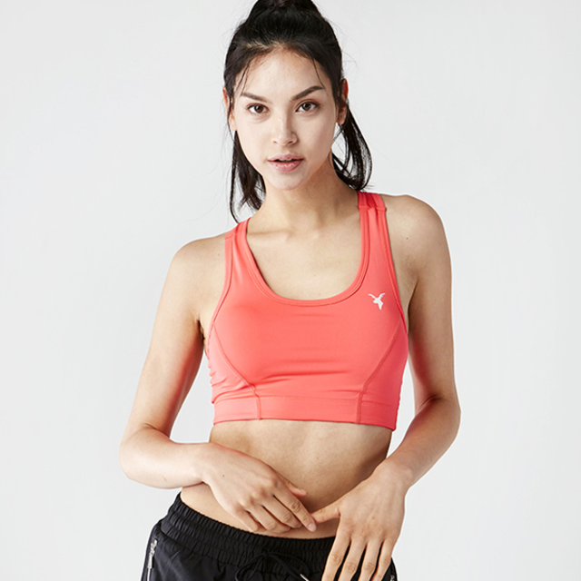AKIIICLASSIC SPORTS PAD BRA TOP PINK