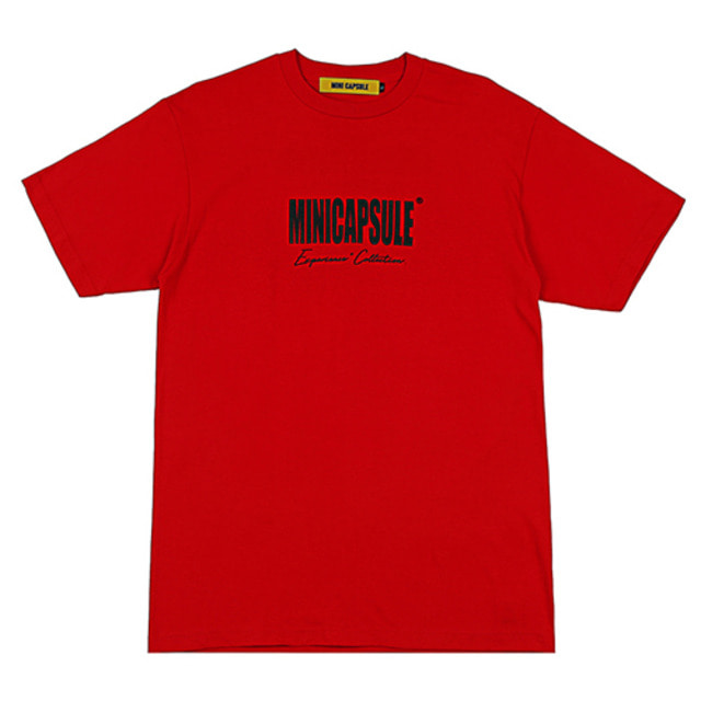 [MINICAPSULE] COLLECTION T-SHIRT RED