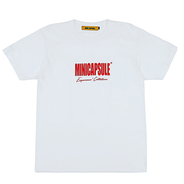 [MINICAPSULE] COLLECTION T-SHIRT WHITE