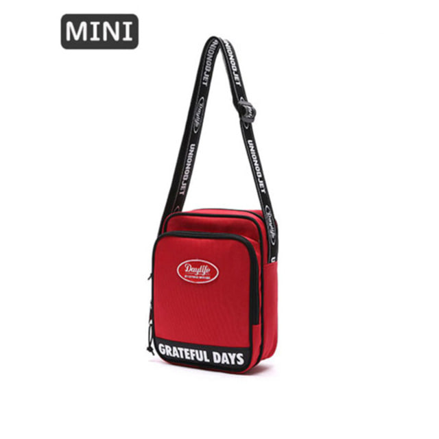 [UNIONOBJET]DAYLIFE X UNIONOBJET MINI CROSS BAG RED