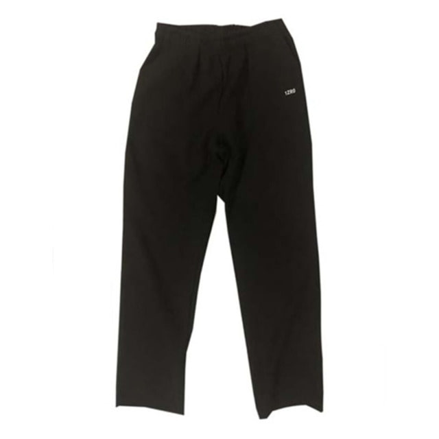 [IZRO] IZRO WHATEVER STRAIGHT PANTS - BLACK