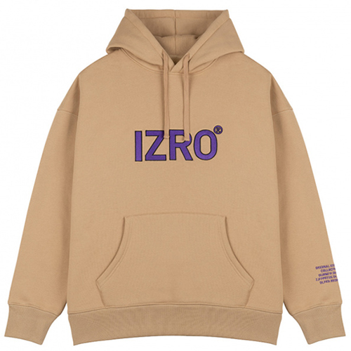 [12月中旬予約発送][IZRO] REFLECT HOODY BEIGE
