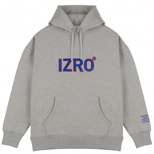 [IZRO] REFLECT HOODY GRAY