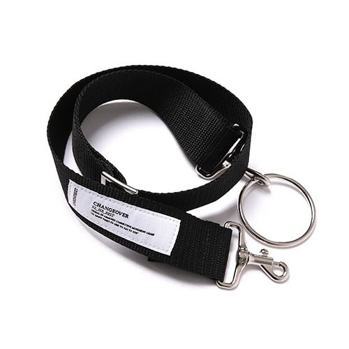 [UNIONOBJET] UNION BASIC O RING BELT - BLACK