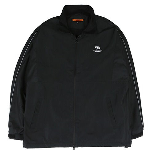 [BURIEDALIVE] BA SPLIT TRACK JACKET BLACK