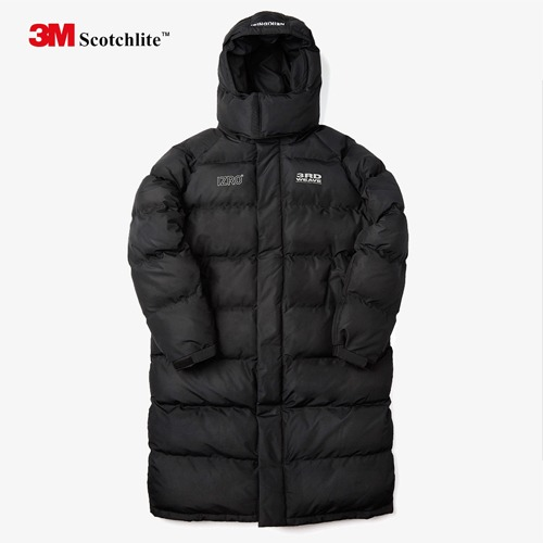 [IZRO] 3M SCOTCH LOGO COLLABO LONG PADDING