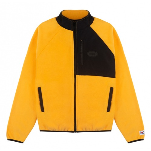 [IZRO] IZRO FLEECE ZIP UP YELLOW