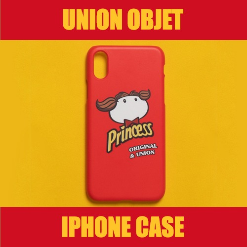 [UNIONOBJET] I-PHONE CASE UNION PRINCESS RED