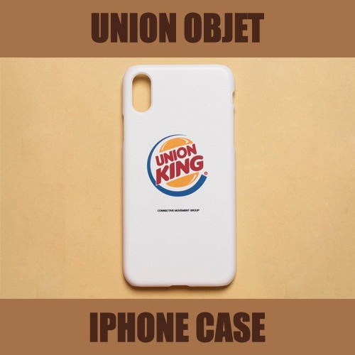 [UNIONOBJET] I-PHONE CASE UNIONKING WHITE