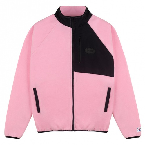 [IZRO] IZRO FLEECE ZIP UP PINK