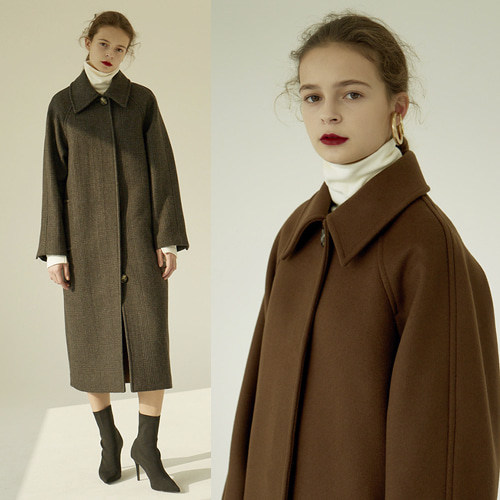 [MOHAN] 18FW SOUTIEN LONG COAT 2COLOR