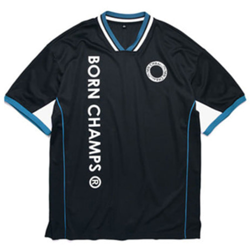 [BORNCHAMPS]DIMENSION LOGO JERSEY BLACK CERBMTS10BK