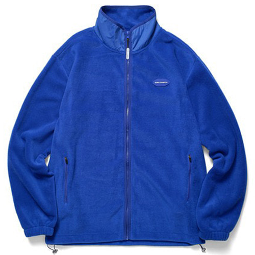 [BORNCHAMPS] BCR POLAR FLEECE ZIP-UP BLUE CERDMJK03BL