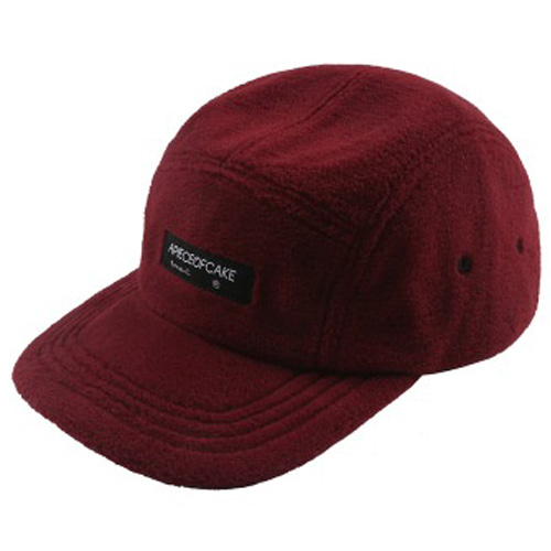[APOC] FLEECE CAMP CAP WINE