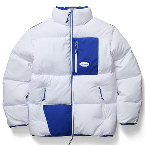 [BORNCHAMPS] BC POCKET LINE DOWN WHITE CERDMDW03WH