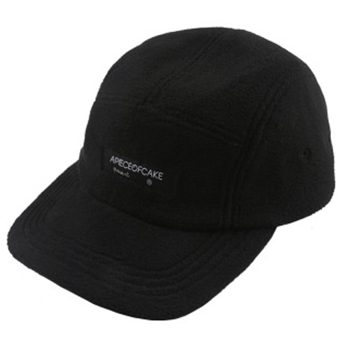 [APOC] FLEECE CAMP CAP BLACK