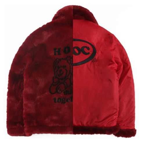 [APOC] HTT FUR JACKET RED
