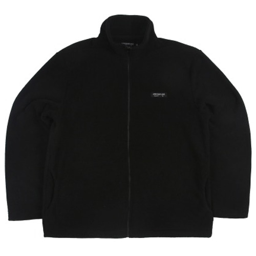 [APOC] BASIC FLEECE JACKET BLACK