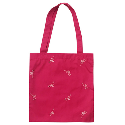 Special klover pattern shoulder bag - pink
