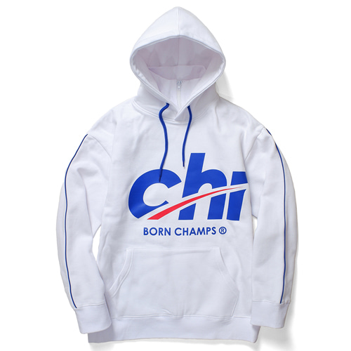 [BORN CHAMPS] BC HIGH NECK HOODY CERDMHD06WH