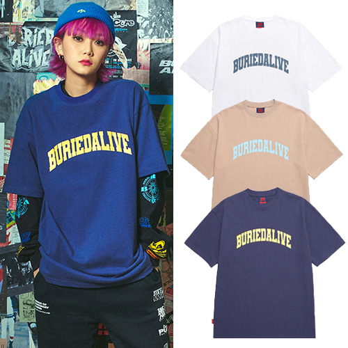 [BURIEDALIVE] BA OS LOGO TEE 3COLOR