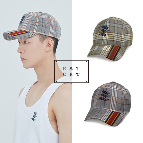 [ROMANTIC CROWN] EASY DAY VIBE CHECK BALLCAP 2COLOR