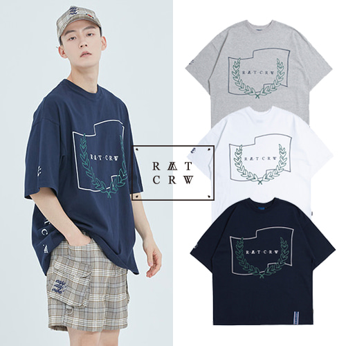 [ROMANTICCROWN] RMTCRW INSIDE T SHIRT 3COLOR