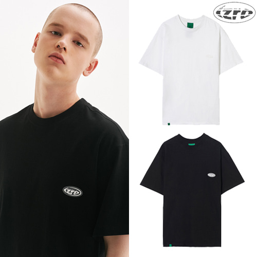 [IZRO] IZRO LABEL TEE 2COLOR