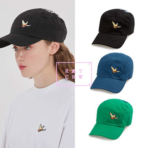 [ROMANTICCROWN][R.C X M.G]CEREMONY CAMP CAP 3COLOR