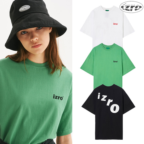 [IZRO] IZRO CURVE TEE 3COLOR