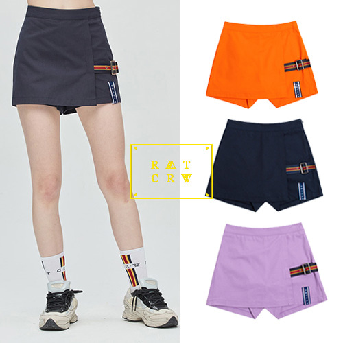 [ROMANTICCROWN WOMAN] GNAC SKIRT SHORT 3COLOR