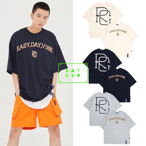 [ROMANTICCROWN] E.D.V BIG LOGO T SHIRT 3COLOR_SEVENTEEN