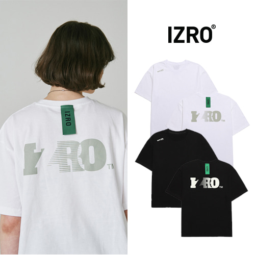 [IZRO] PASTEL LOGO T SHIRT 2COLOR