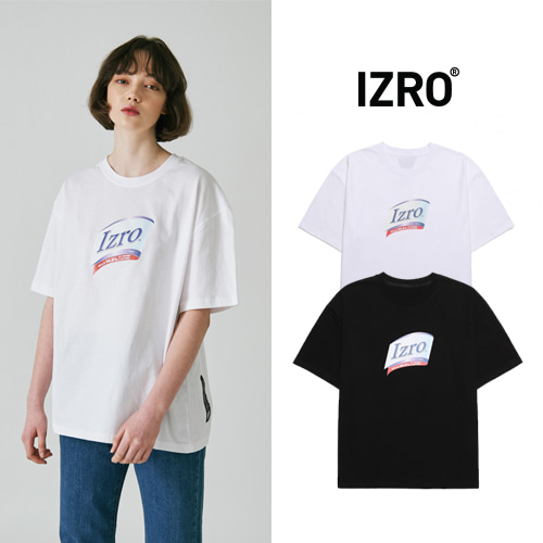 [IZRO] LAUNDRY T SHIRT 2COLOR