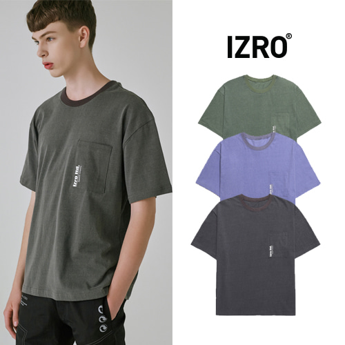 [IZRO] PIGMENT T SHIRT 3COLOR