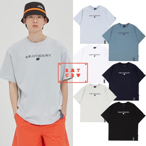 [ROMANTICCROWN] RMTCRW LOGO TEE 6COLOR