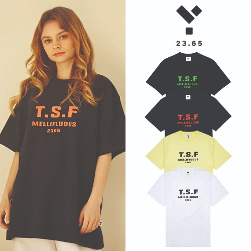 [23.65] 23.65 TSF SHORT SLEEVE T-SHIRT 4COLOR