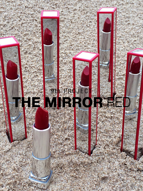 COOL ENOUGH STUDIO-9th PROJECT THE MIRROR RED-