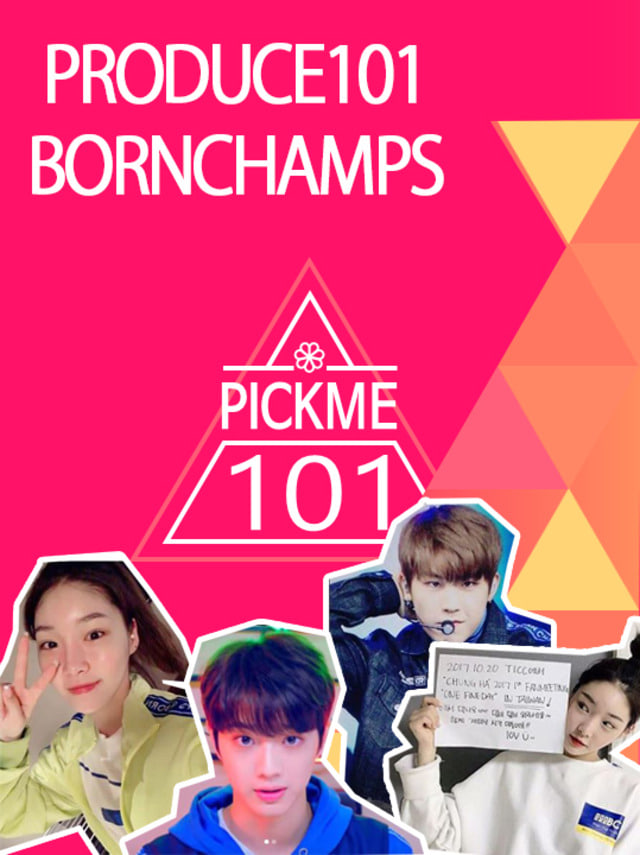 ♡PRODUCE101 X BORNCHAMPS♡