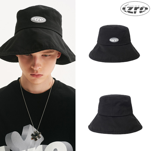 [IZRO] IZRO BLACK BUCKET HAT